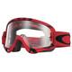 Oakley O Frame MX Goggles röd/transparent